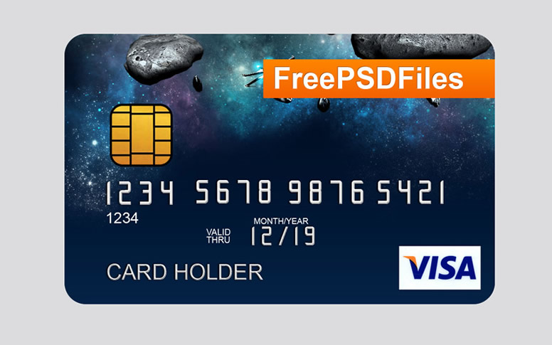 776x485 Visa Card Holder Free Vector Graphic Download