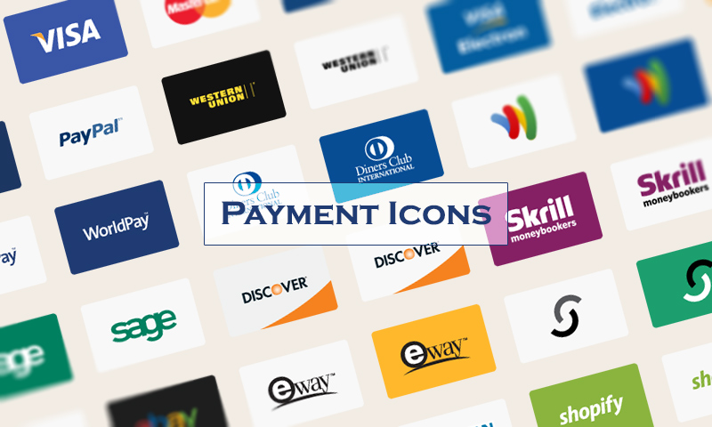 800x480 Free Download Payment Method Vector Icons