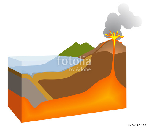 500x431 Volcan Stock Image And Royalty Free Vector Files On
