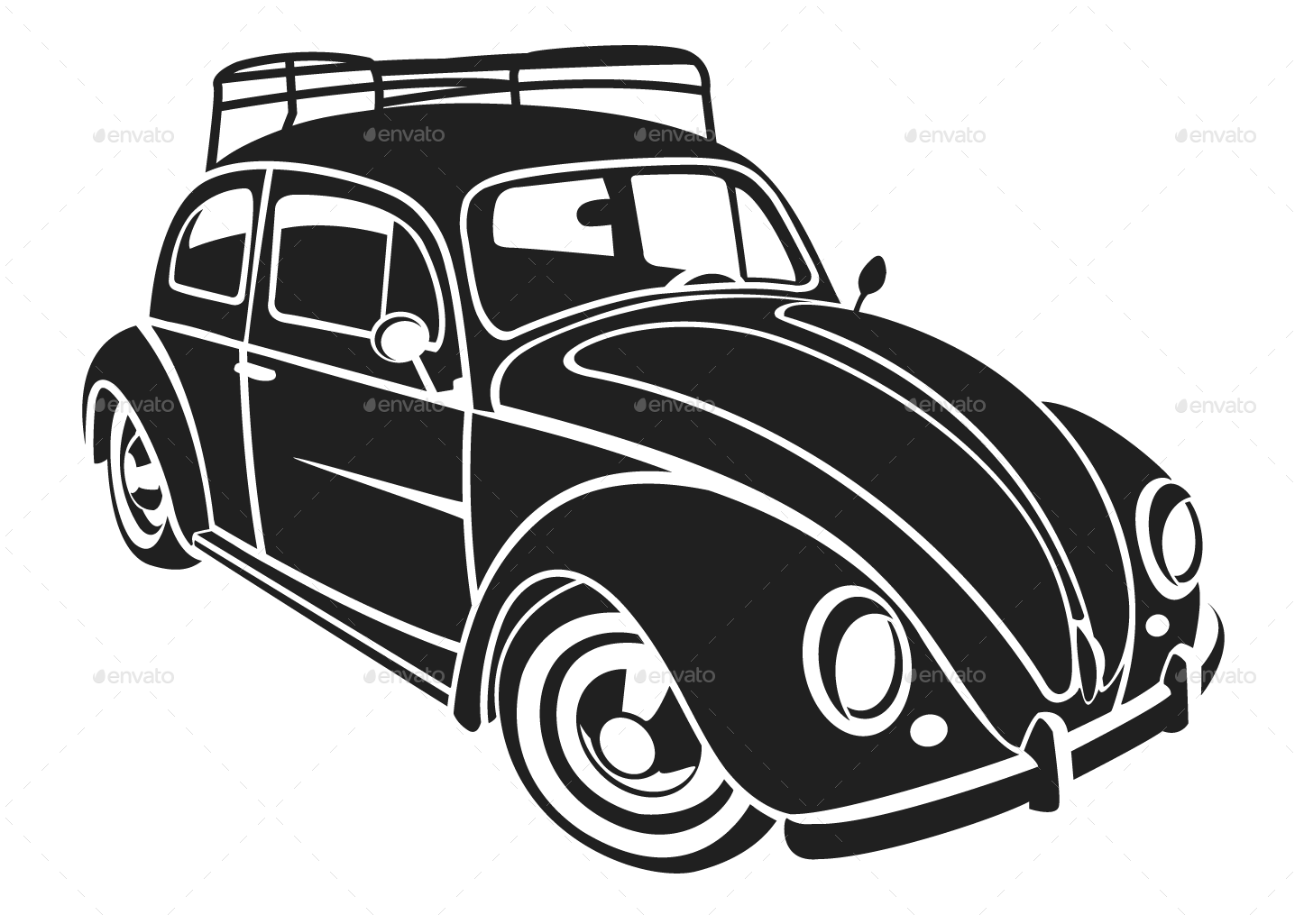 1446x1025 15 Volkswagen Vector Silhouette For Free Download On Mbtskoudsalg