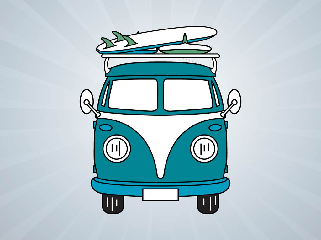 1024x765 Volkswagen Bus Vector Vector Art Amp Graphics