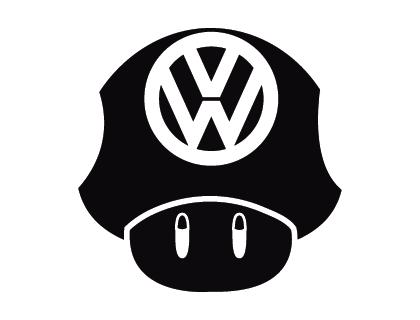 420x320 Volkswagen Mushroom Vector Logo Logopik