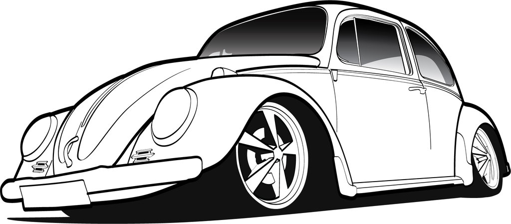 1024x449 Vw Beetle Logo Vector