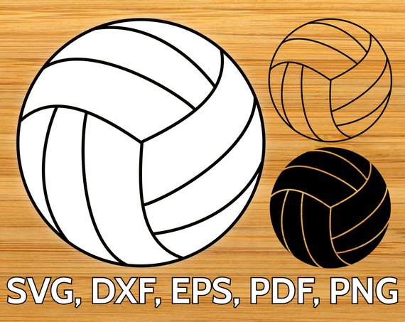 570x453 Volleyball Ball Svg Design Cut File For Cricut Amp Silhouette Etsy