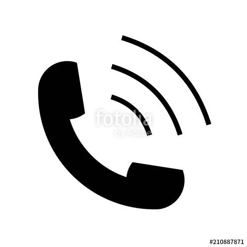 500x500 Phone Volume Icon Vector Icon. Simple Element Illustration. Phone
