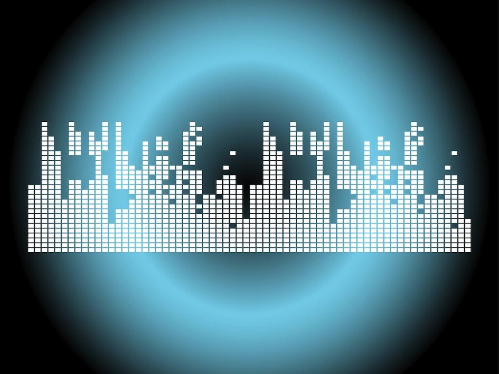 1024x768 Volume Levels Vector