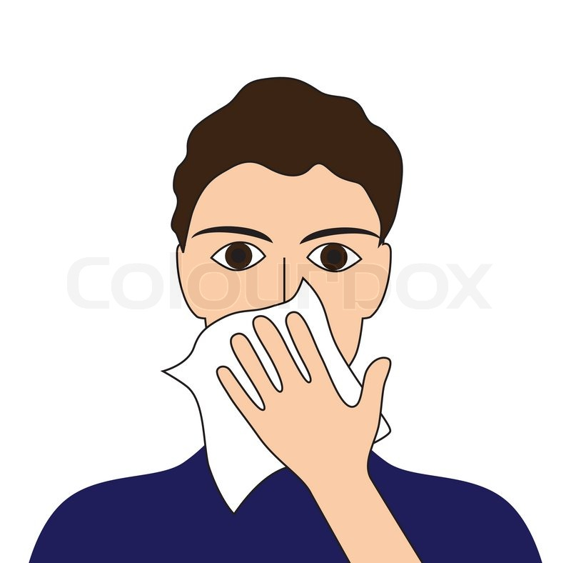 800x788 Cover Your Cough Sick Ill Fever Flu Cold Sneeze Vomit Disease