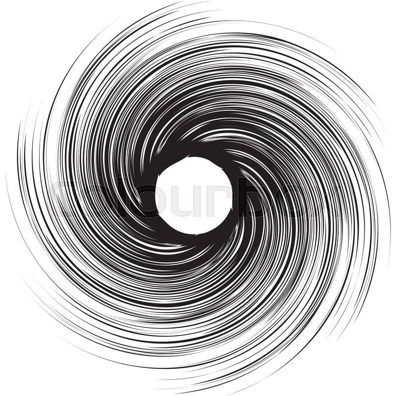 800x800 Vortex Speed Lines Background. Storm Swirl Element In Manga Or Pop