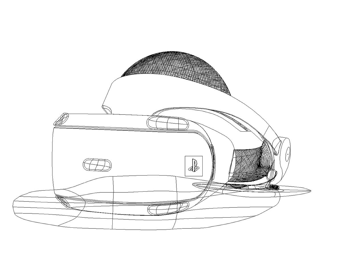 1200x943 Playstation Vr Vector Illustration On Wacom Gallery