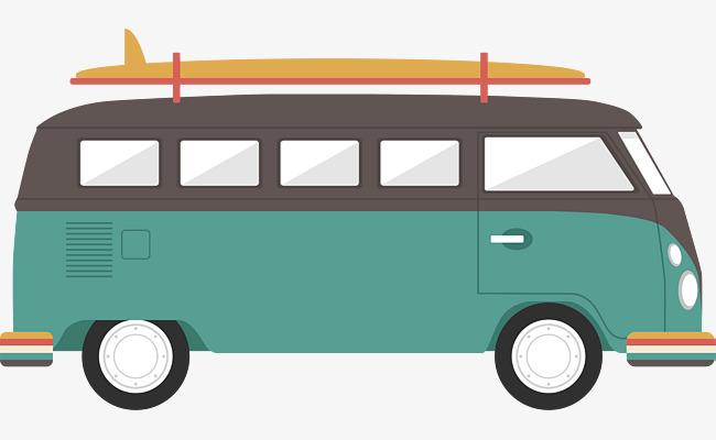 650x400 Retro Bus, Retro Vector, Bus Vector, Bus Clipart Png And Vector