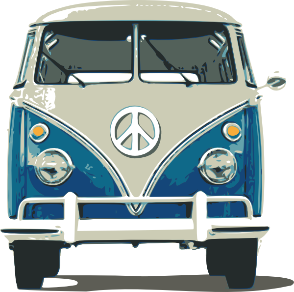 600x594 Vw Bus Clip Art At Clker Com Vector Clip Art Online Royalty Free