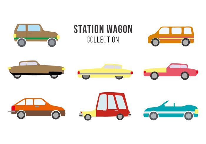 700x490 Free Vintage Station Wagon Vector