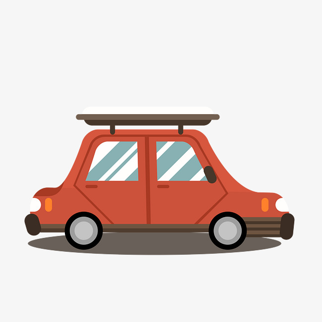 650x651 Vector Red Wagon, Flattened, Station Wagon, Vector Png And Vector