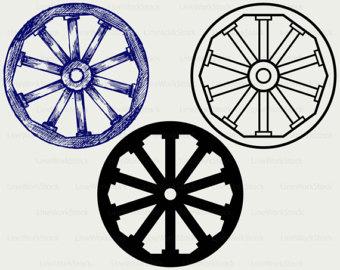 340x270 Wagon Clipart Wagon Wheel