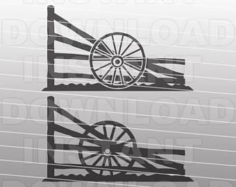 340x270 Wagon Wheel Svg Etsy