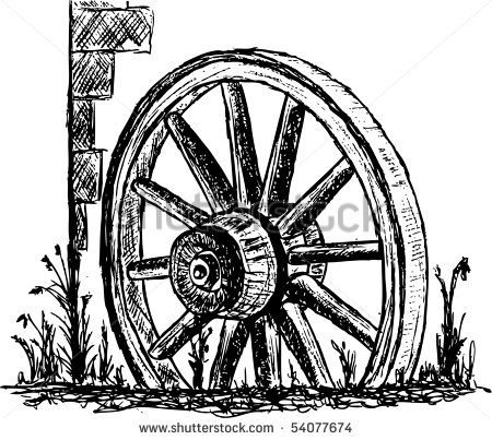 450x403 Western Wagon Wheel Clip Art Art Tips, Hints Amp Do