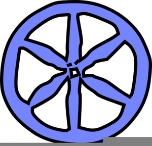 300x289 Clipart Wagon Wheel Free Free Images