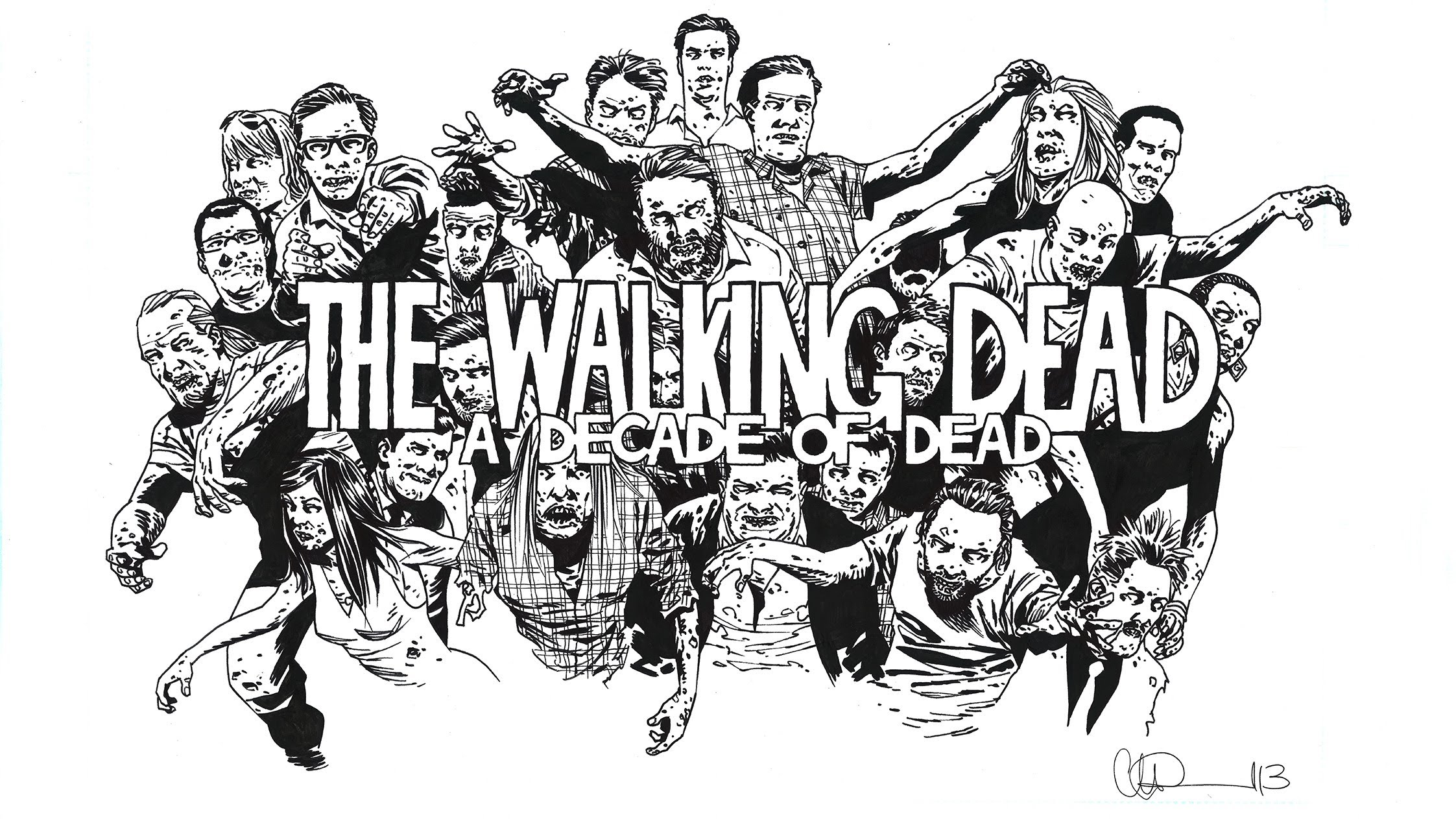 2245x1263 The Walking Dead A Decade Of Dead