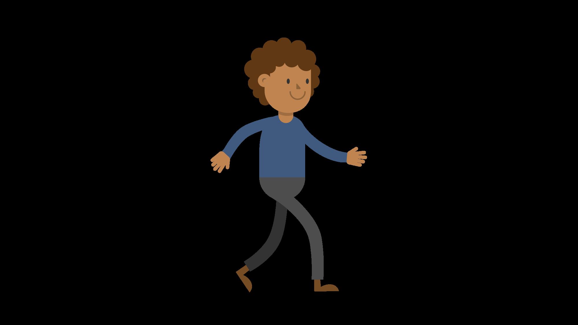 2000x1125 Fileblack Man Walking Cartoon Vector.svg