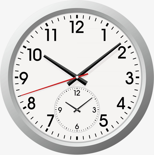 650x651 Exquisite Wall Clock Vector, Clock Vector, Modify, Time Png And