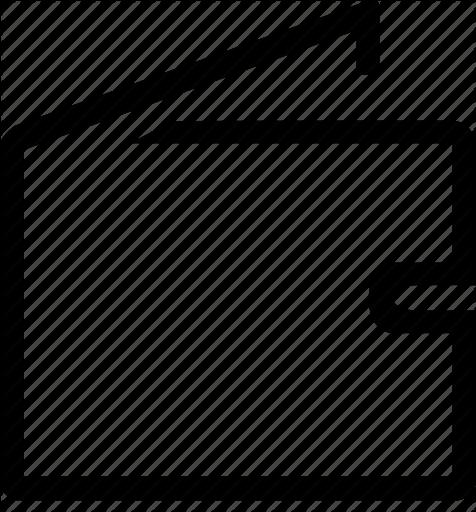 476x512 Icon Wallet Vector