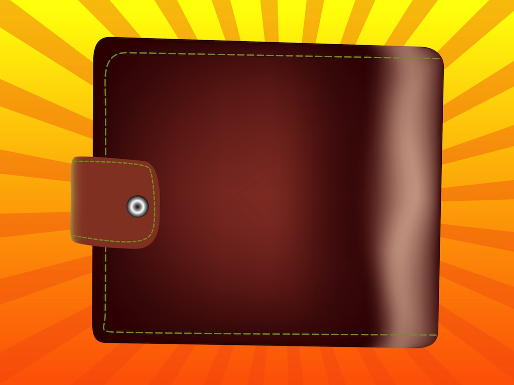 1024x767 Leather Wallet Vector Art Amp Graphics