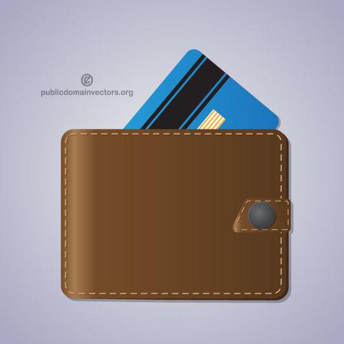 500x500 Leather Wallet Vector Image Public Domain Vectors
