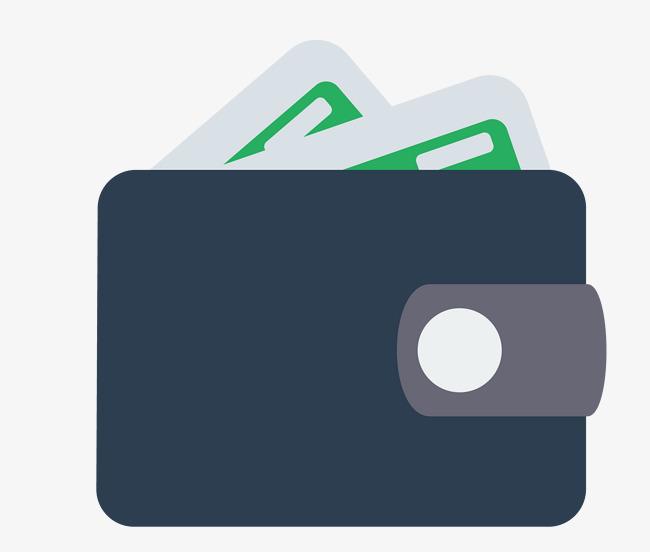 650x552 Vector Creative Flat Wallet, Vector Material, Flat, Wallet Png And