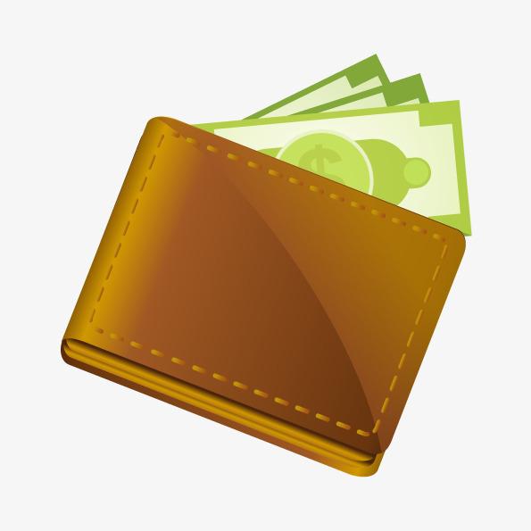 595x595 Vector Purse Money, Money Vector, Wallet, Vector Wallet Png And