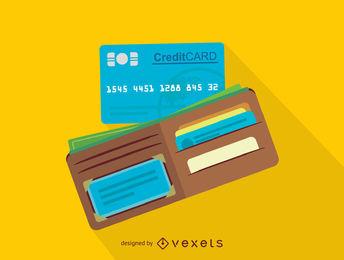344x260 Wallet Vector Graphics To Download