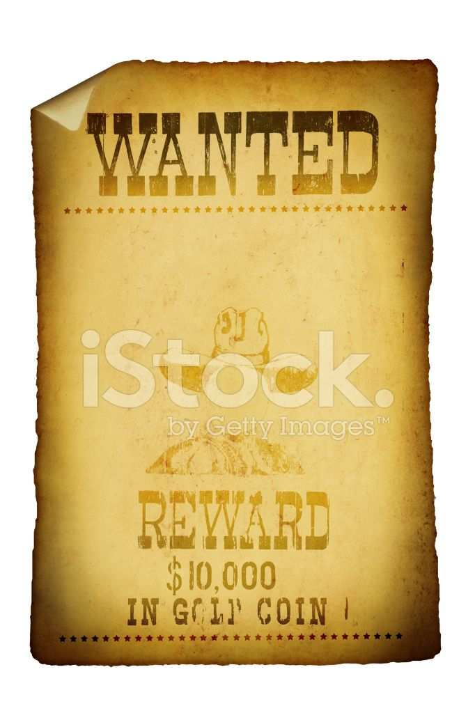 682x1024 Vintage Poster Stock Vector Free Ordinary Old Wanted Poster