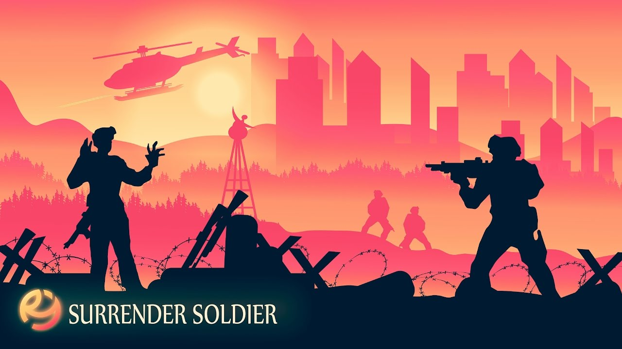 1280x720 Tutorial Creating Vector Landscape Surrender Soldier In Adobe