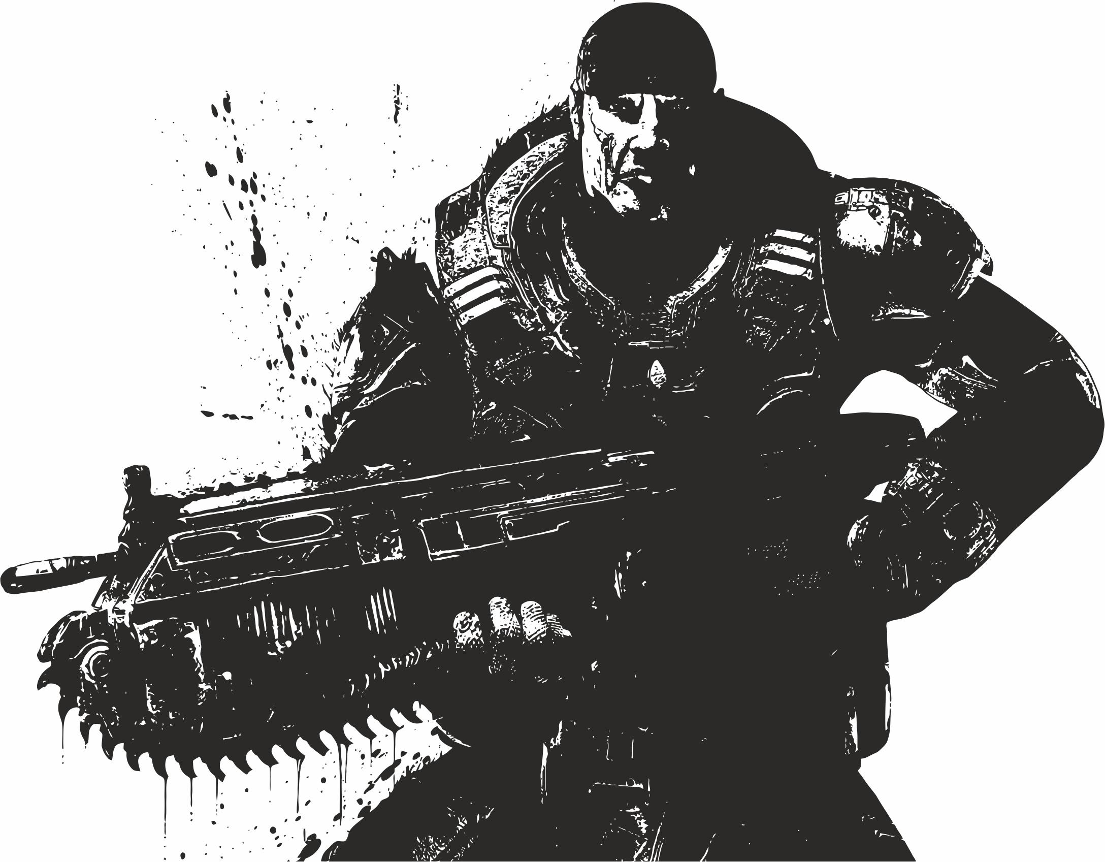 2176x1697 Gears Of War Vector Free Vector Download