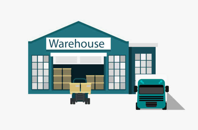 650x427 Vector Warehouse Truck, Truck Clipart, Truck, Vector Truck Png And