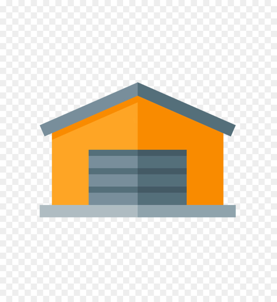 900x980 Vector Creative Yellow Warehouse Map Png Download