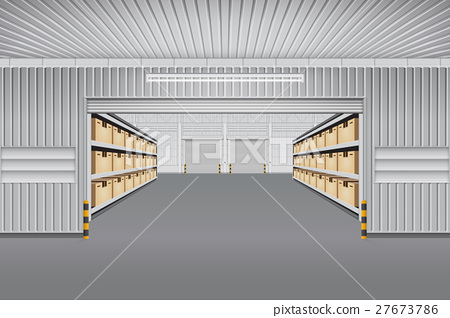 450x318 Warehouse Vector Background