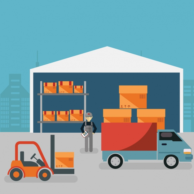 626x626 Warehouse Background Design Vector Free Download