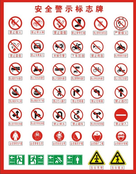 467x600 Warning Signs Vector Free Vector In Coreldraw Cdr ( .cdr ) Vector