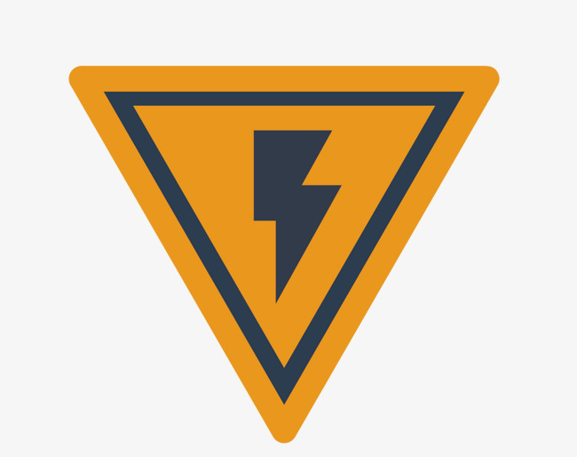 650x514 Electric Shock Warning Sign Triangle Vector, Sign Vector, Triangle