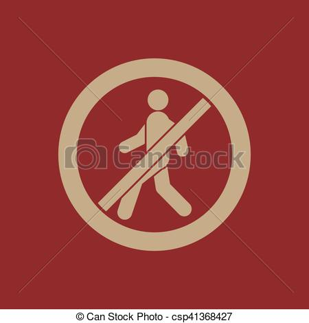 450x470 The No Entry Icon. Disallowed And Danger, Warning Symbol