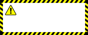 300x120 1065 Free Warning Vector Public Domain Vectors