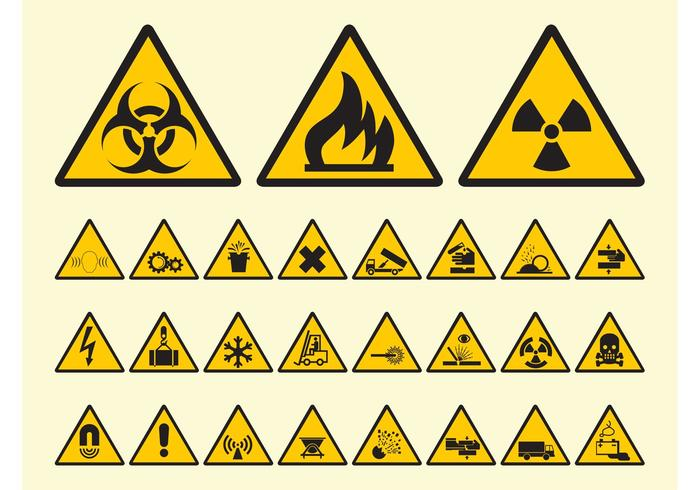 700x490 Warning Free Vector Art