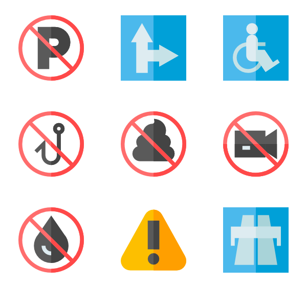 600x564 Warning Icons