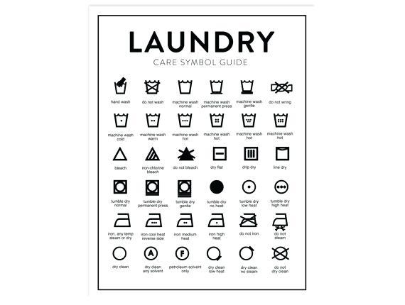 570x430 Washing Symbols Chart Uk