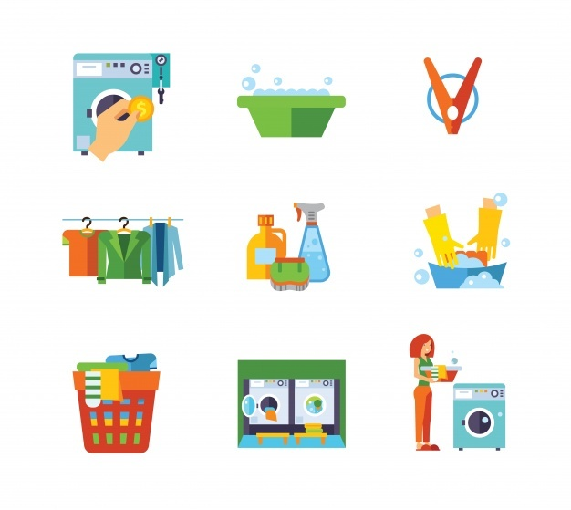 Wash Care Symbols Vector Download Free at GetDrawings com