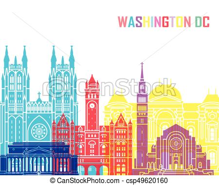 450x380 Washington Dc V2 Skyline Pop. Washington Dc Skyline Pop In