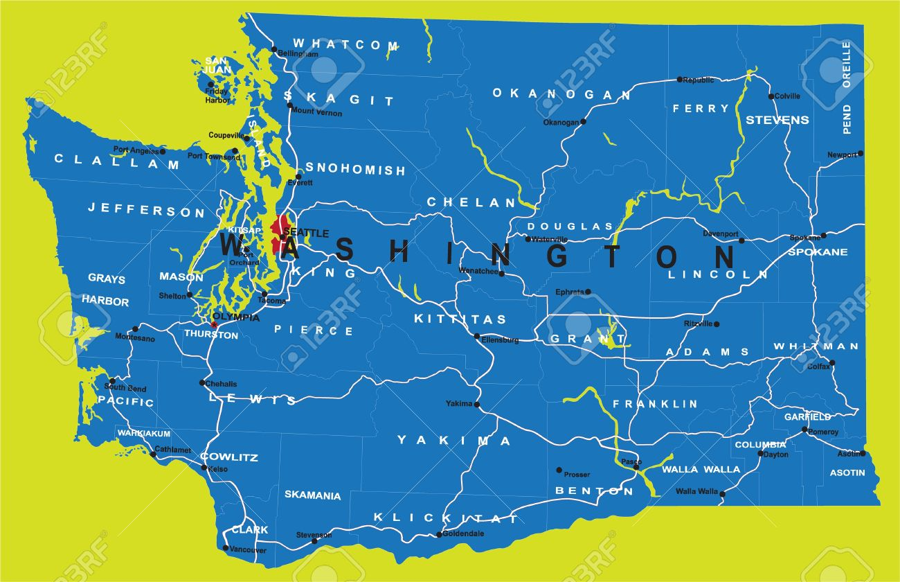 Washington State Vector