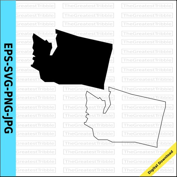 570x569 Map Outline Of Washington State Washington State Map Svg Png Jpg