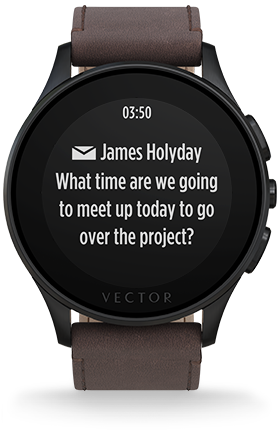 280x430 Vector Smart Watch The Smartwatch With A 30 Day Battery Life.