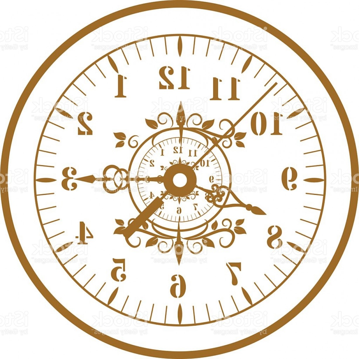 1228x1228 Watch Face Antique Clock Vector Illustration Gm Arenawp
